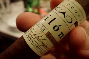 Zigarrenbanderole Detail
