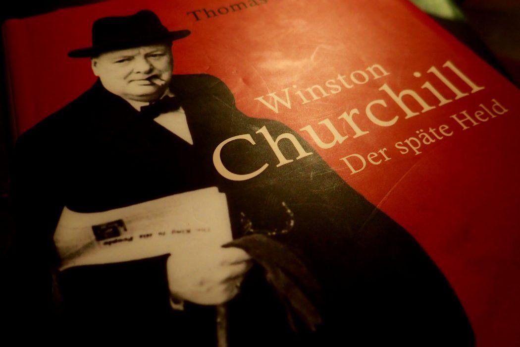 Buchdeckel Winston Churchill