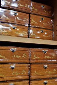 Zigarrenkisten in Humidor